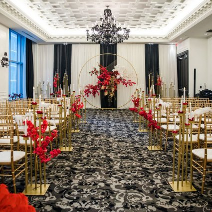 """Fleur Weddings featured in Jenny and David's """"Old Shanghai"""" Themed Wedding at the St. Regis"""