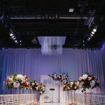 Liberty Grand Entertainment Complex featured in Nana and Douglas' Lovely Wedding at Liberty Grand Entertainme…