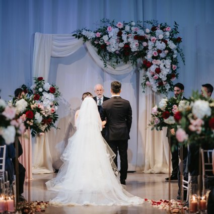 All Seasons Weddings featured in Nana and Douglas' Lovely Wedding at Liberty Grand Entertainme…