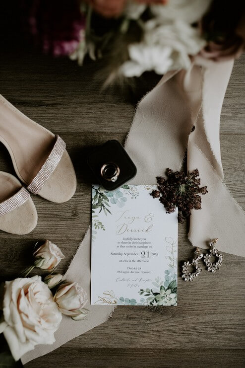 Wedding at District 28, Toronto, Ontario, Jennifer See Studios, 1