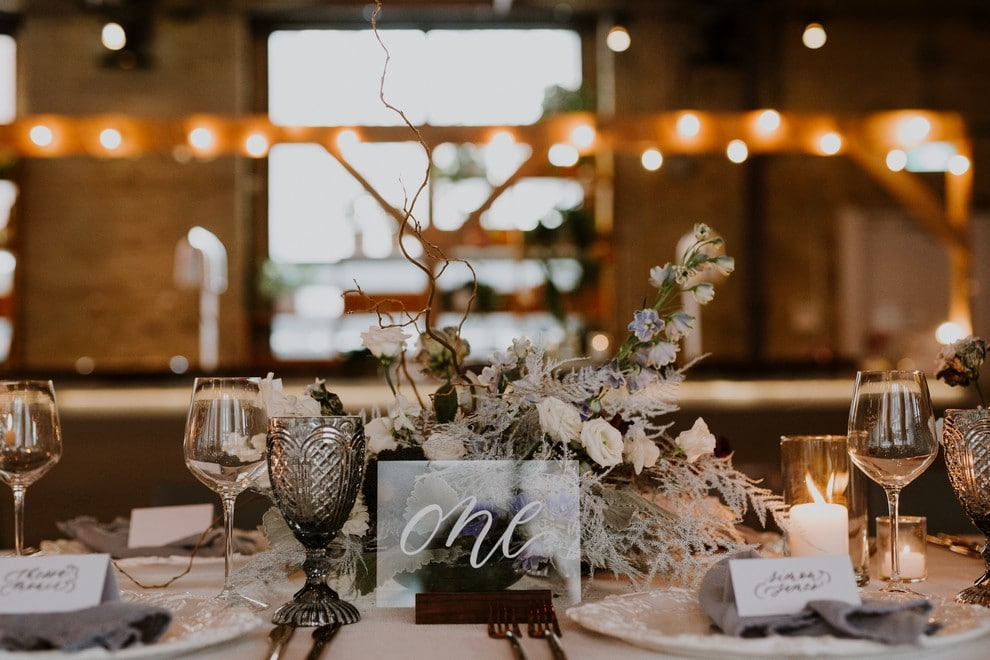 a pretty wedding open house at 2nd floor events, 22