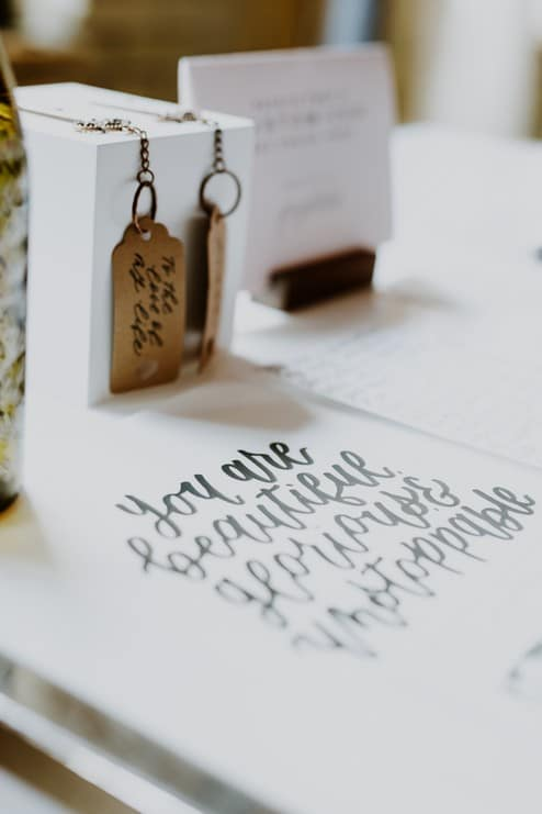 a pretty wedding open house at 2nd floor events, 23
