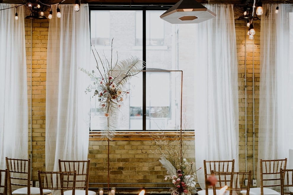 a pretty wedding open house at 2nd floor events, 16
