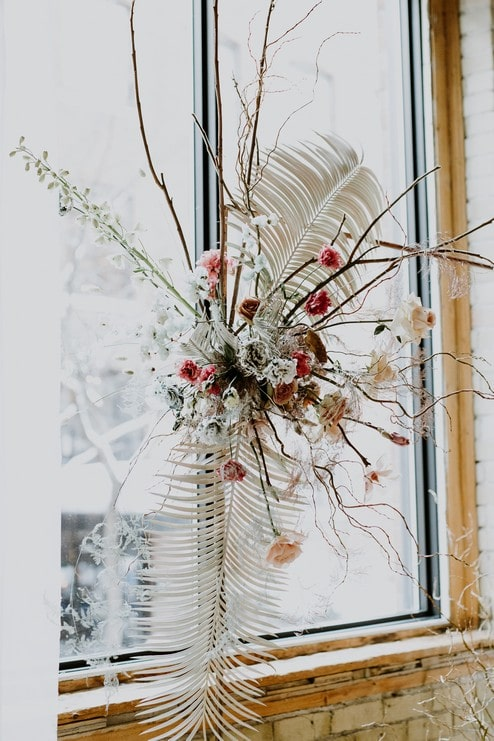 a pretty wedding open house at 2nd floor events, 17