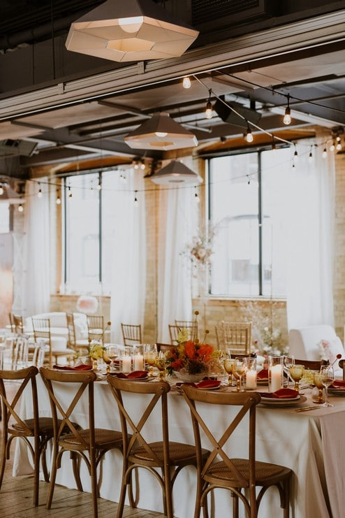 a pretty wedding open house at 2nd floor events, 18