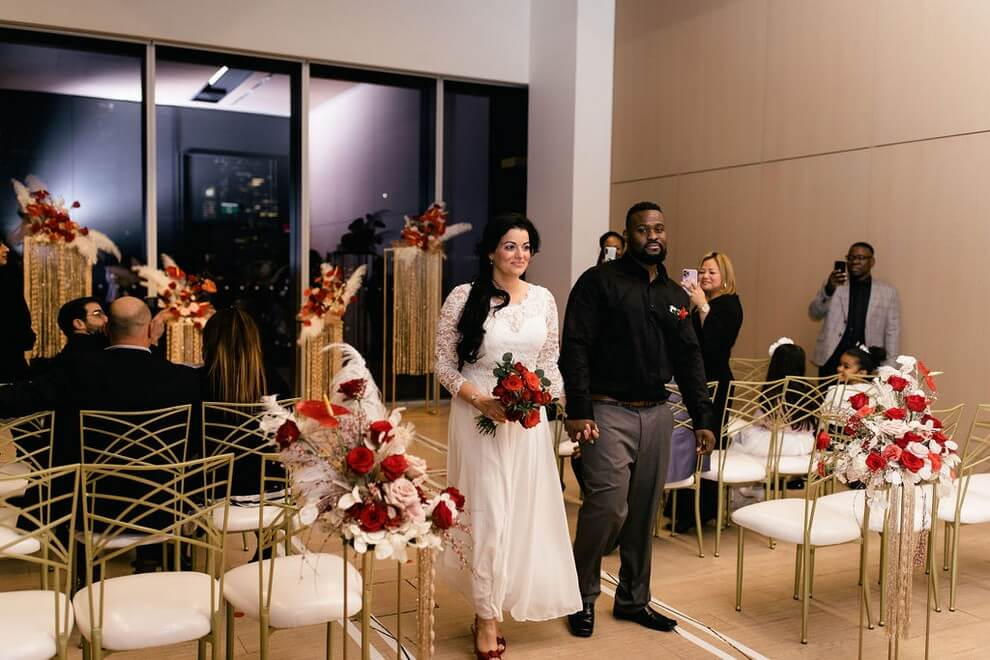Wedding at The Globe and Mail Centre, Toronto, Ontario, 45
