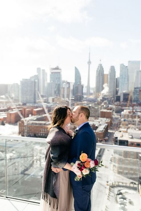 Wedding at The Globe and Mail Centre, Toronto, Ontario, 31