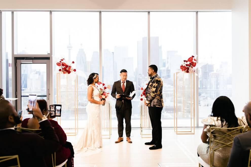 Wedding at The Globe and Mail Centre, Toronto, Ontario, 29