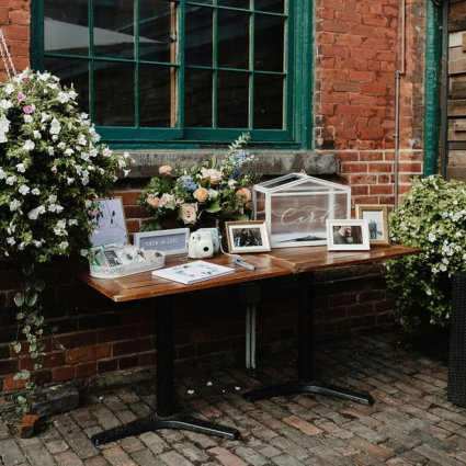 Gina Humilde Events featured in Cammie and Ryan's Romantic Summer Wedding at Archeo