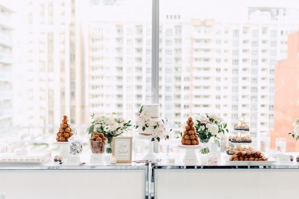 dessert table Summer Malaparte Wedding