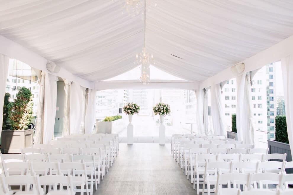 Summer Malaparte Wedding ceremony