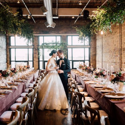 The Burroughes featured in Christine and Noah's Romantic Toronto Wedding at the Burroughes