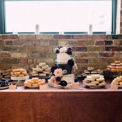 The Plump Strawberry featured in Christine and Noah's Romantic Toronto Wedding at the Burroughes