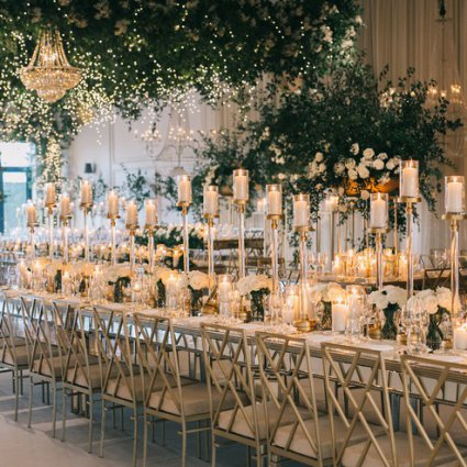 Reznick Event Carpets featured in Nikki and Leonardo's Stunning Wedding at Arlington Estate