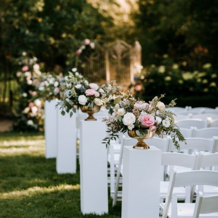 """Glamourous Affairs featured in Carol and Sam's """"Alice in Wonderland"""" Wedding at Graydon Hall"""