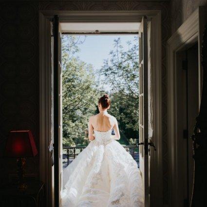 "Graydon Hall Manor featured in Carol and Sam's ""Alice in Wonderland"" Wedding at Graydon Hall"