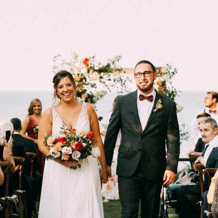 Thumbnail for Jenna and Trevor's Gorgeous Backyard Wedding