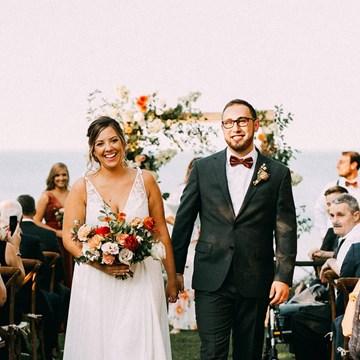 Jenna and Trevor's Gorgeous Backyard Wedding