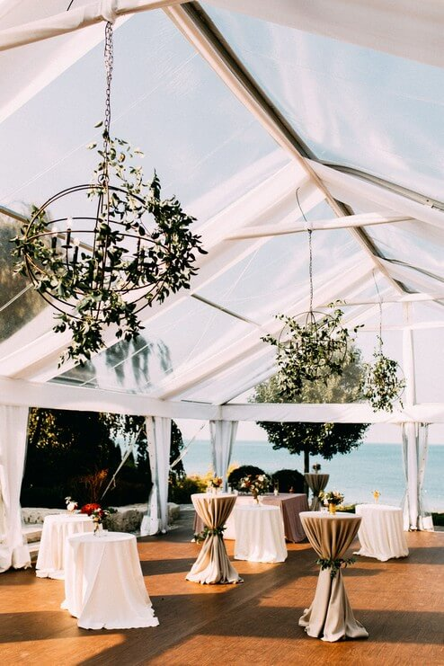 Tented Backyard Wedding