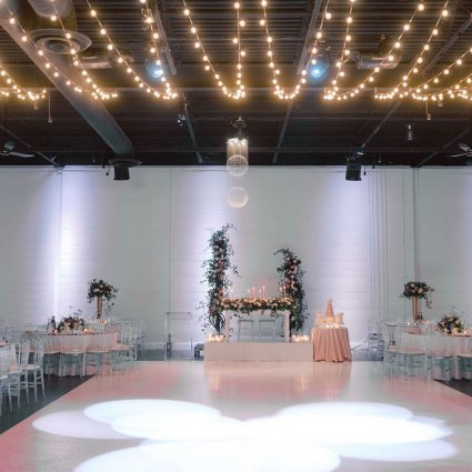 Axe Media Group featured in Shari and Antonio's Luxe Wedding at York Mills Gallery