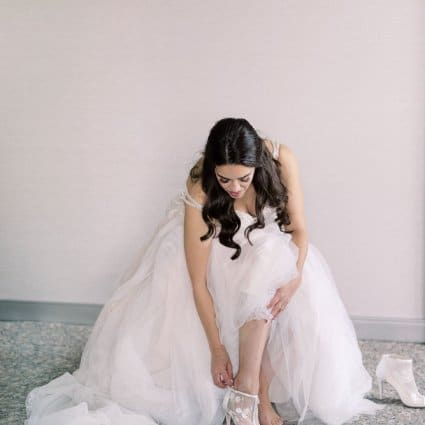 Ford Beauty featured in Shari and Antonio's Luxe Wedding at York Mills Gallery