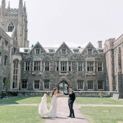 Hart House featured in Shelly and Pete's Sweet Wedding at Malaparte