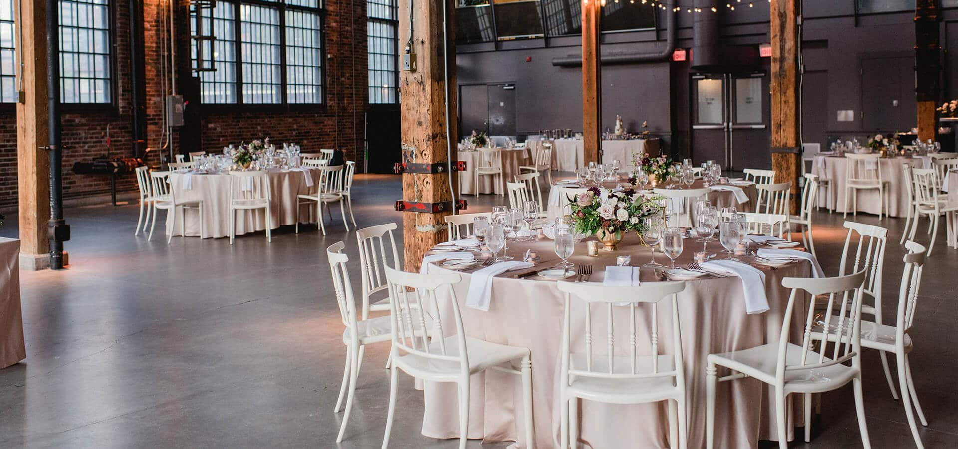 Hero image for Daniela and Andrei's Sweet Wedding at Steam Whistle Brewery