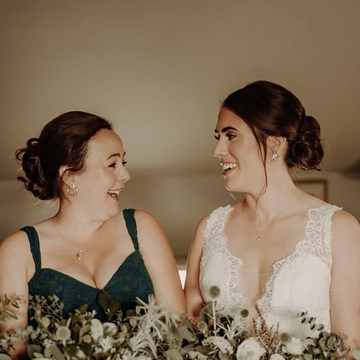 Sarah and Ross' Darling Wedding at the Glenerin Inn & Spa