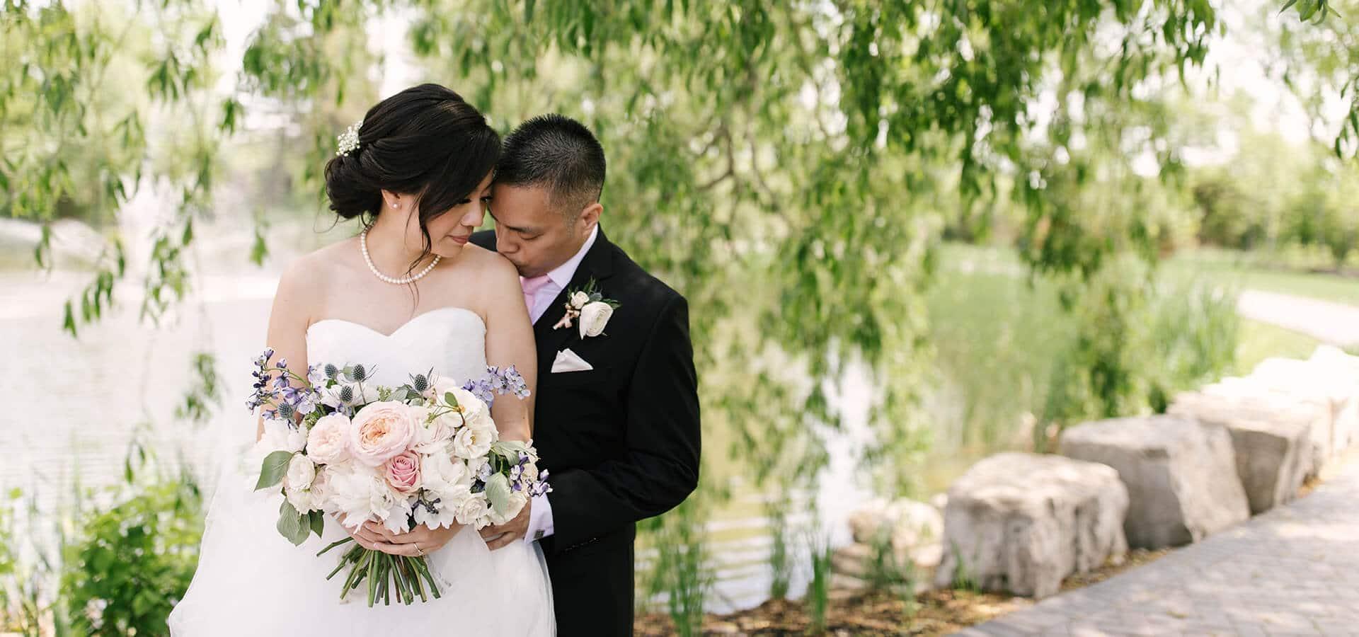 Hero image for Yar Ting and Carlson's Beautiful Arlington Estate Wedding
