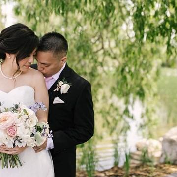 Yar Ting and Carlson's Beautiful Arlington Estate Wedding