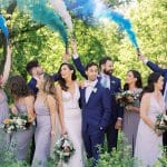 Thumbnail for Kayla and Mike's Blue-and-White Wedding at the Symes
