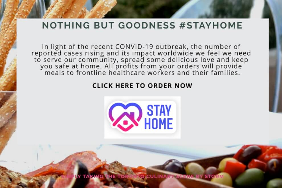 toronto caterers offering home delivery during the covid 19 pandemic, 30
