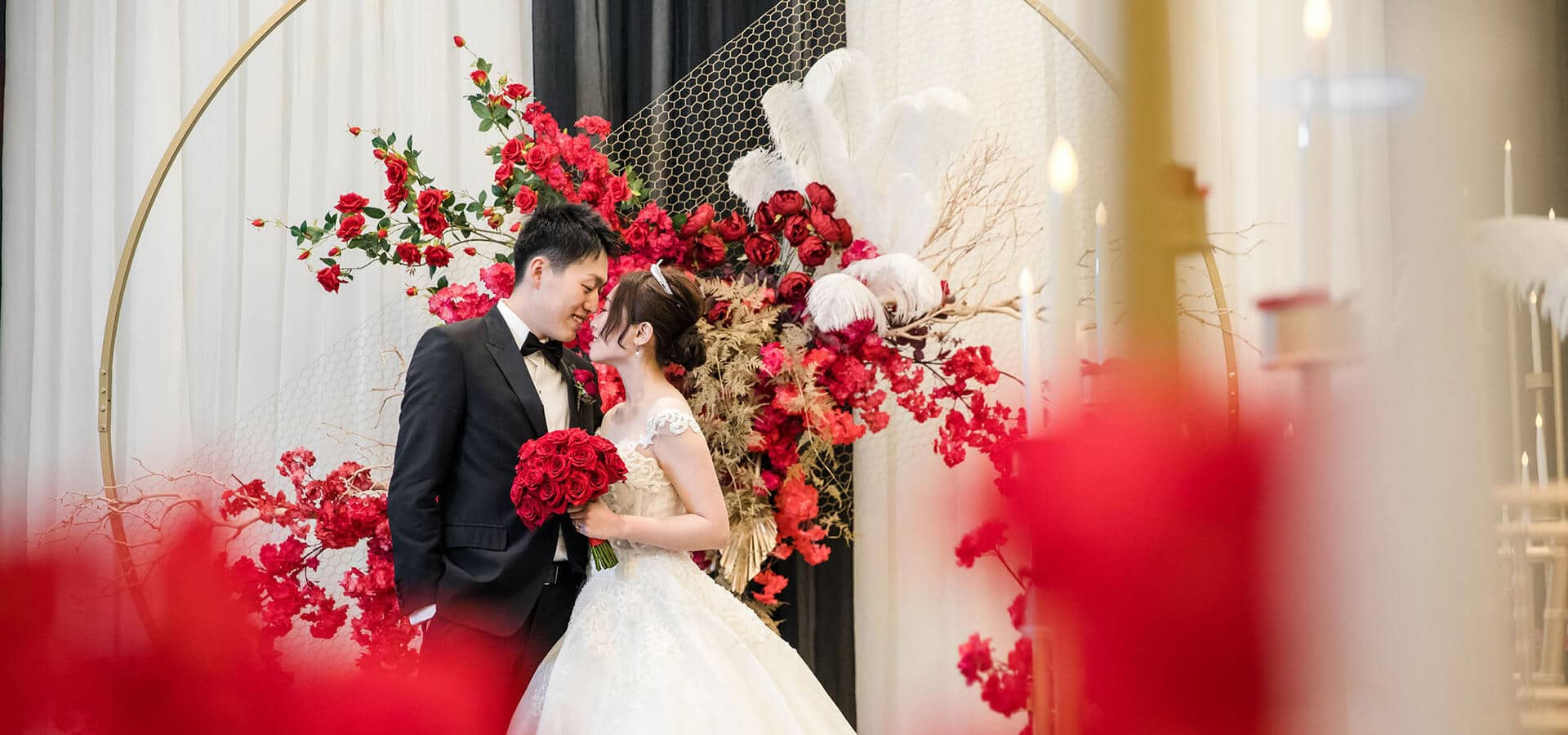 "Hero image for Jenny and David's ""Old Shanghai"" Themed Wedding at the St. Regis"