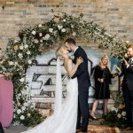 Thumbnail for Alexis and Aaron's Romantic Evergreen Brick Works Wedding