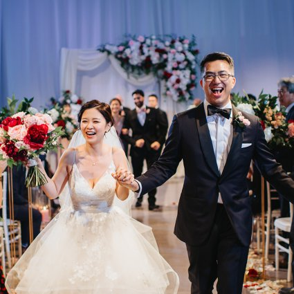 Roy Pro MC featured in Nana and Douglas' Lovely Wedding at Liberty Grand Entertainme…