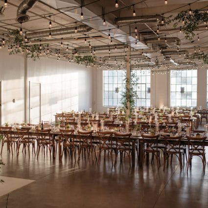 A Lavish Affair featured in Caslon and Nick's Playful and Romantic Wedding at District 28