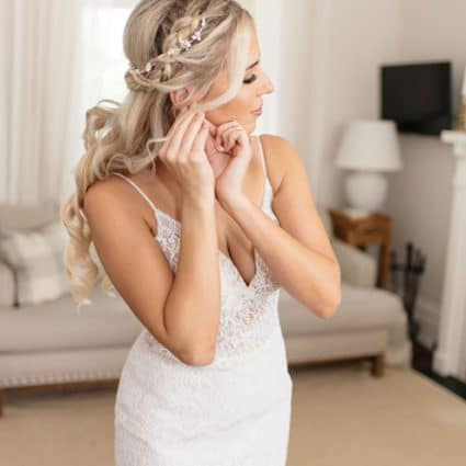 Toronto Beauty Group featured in Caslon and Nick's Playful and Romantic Wedding at District 28