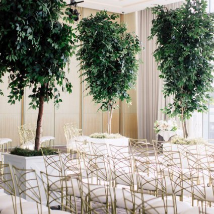 Luxe Rentals featured in Jacqueline and Kenneth's Fairy-tale Wedding at the Four Seasons