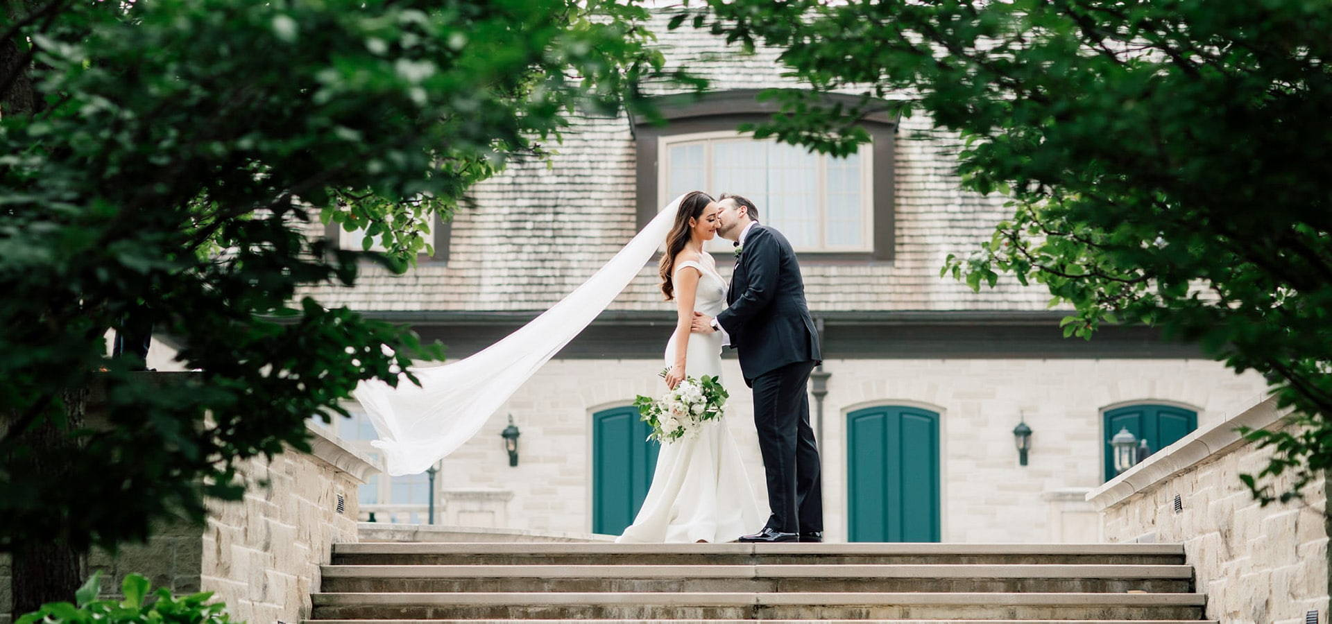 Hero image for Sarah and Damian's European Style Wedding at Magna Golf Club