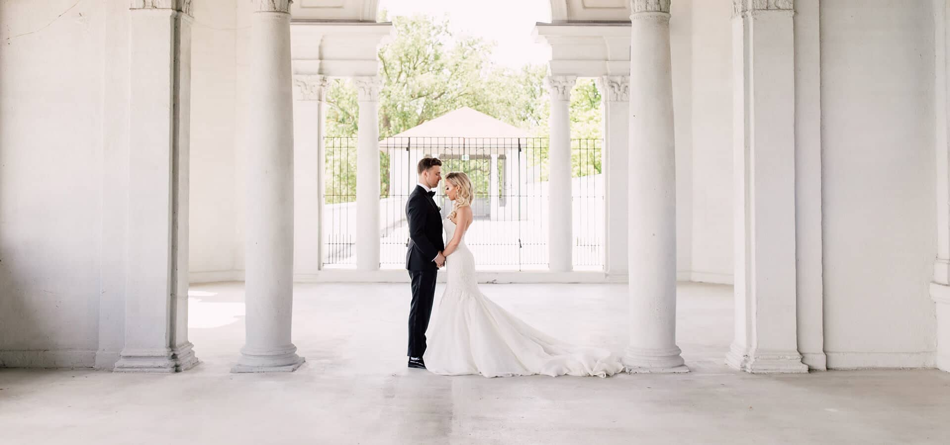 Hero image for Andrea and Andrew's Rustic-yet-Luxe Wedding at Tralee Wedding Facility