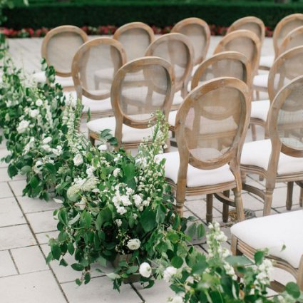 Detailz Couture Event Rentals featured in Sarah and Damian's European Style Wedding at Magna Golf Club
