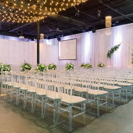 York Mills Gallery featured in Margaret and Adam's Classic Wedding at York Mills Gallery