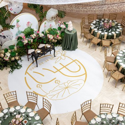 HerMan Photography featured in Jessica and Winston's Cultural Wedding at Columbus Event Centre
