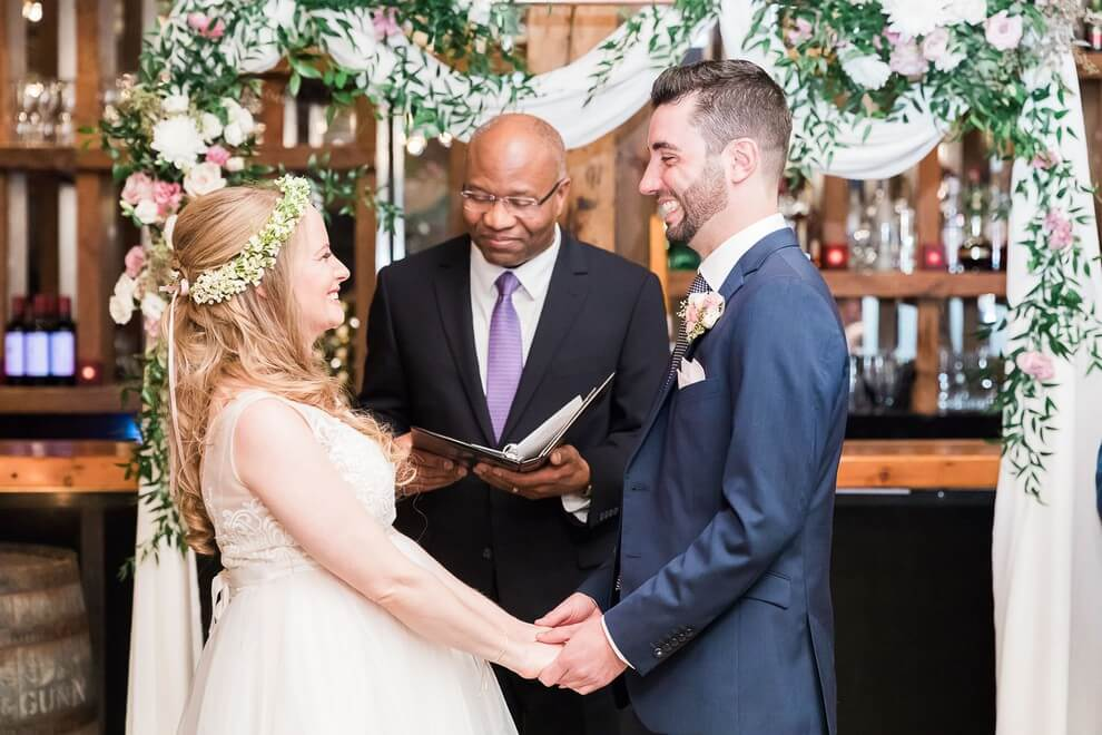 how to find the right wedding officiant, 5