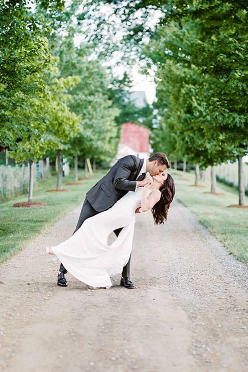 Utterly Romantic Nuptials