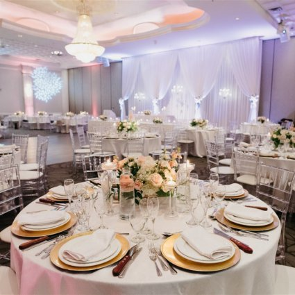 Mississauga Convention Centre featured in Jamila and Lester's Grand Wedding at Mississauga Convention C…