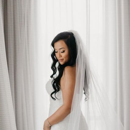 Alist Beauty featured in Jamila and Lester's Grand Wedding at Mississauga Convention C…