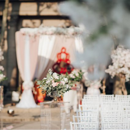 O.M.G. Events featured in Nadia and Tushar's Stunning and Bold Celebration at Liberty G…
