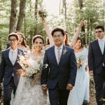 Thumbnail for Susana and Mark's Intimate Fall Wedding at Kortright Eventspace