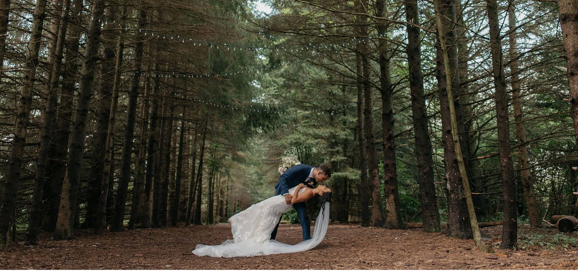 Hero image for Andrea and Erik's Elegant Wedding at King's Riding Golf Club